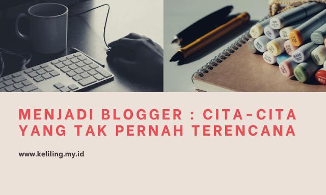 Usia yang tak muda lagi tidak menghentikan langkahku menjadi blogger