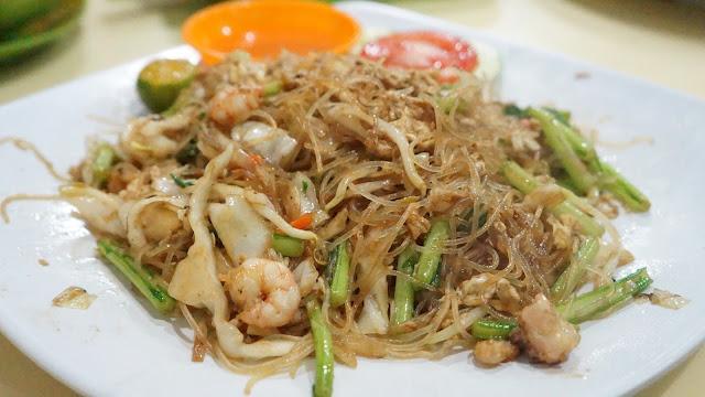 Bihun Goreng Seafood  ala Risqy Seafood
