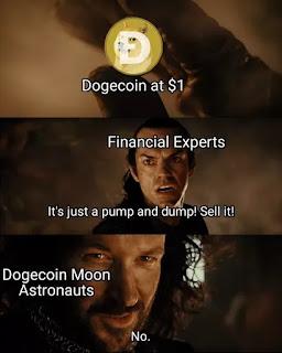 Dogecoin memes