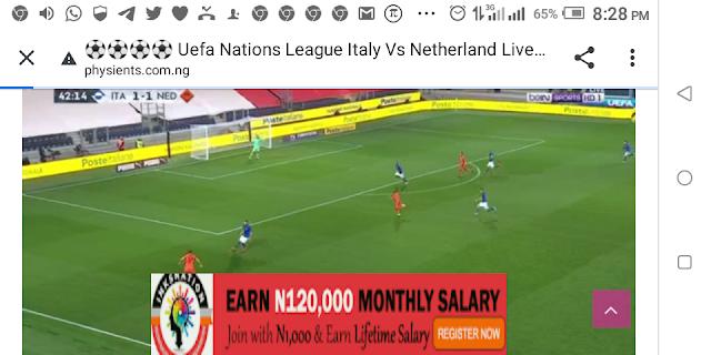 ⚽⚽⚽⚽ Uefa Nations League Italy Vs Netherland Live Streaming ⚽⚽⚽⚽