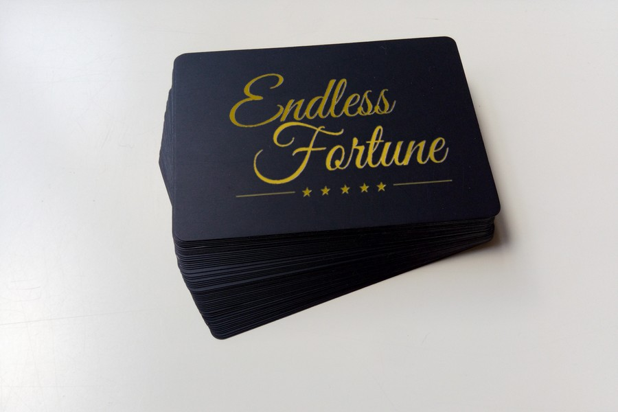 Endless Fortune Mock Card