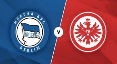 شاهد مباراة اينتراخت فرانكفورت وهيرتا برلين بث مباشر اليوم 25-9-2020 في الدوري الالماني