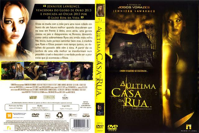 Capa DVD A Última Casa da Rua