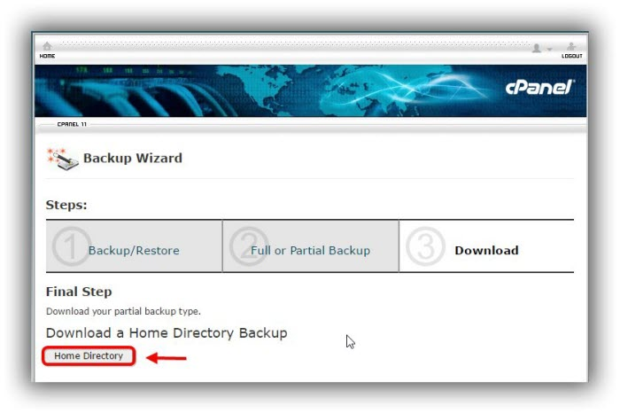 cPanel-cara-backup-home-directory-Download