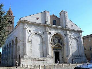 Rimini's duomo - the Tempio Malatestiano