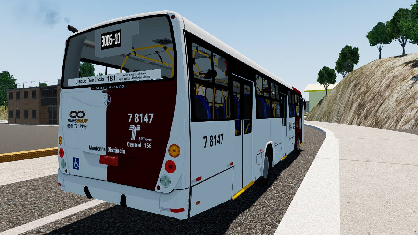 Mod do Marcopolo Torino 2007 MB OF-1722M para Proton Bus Simulator