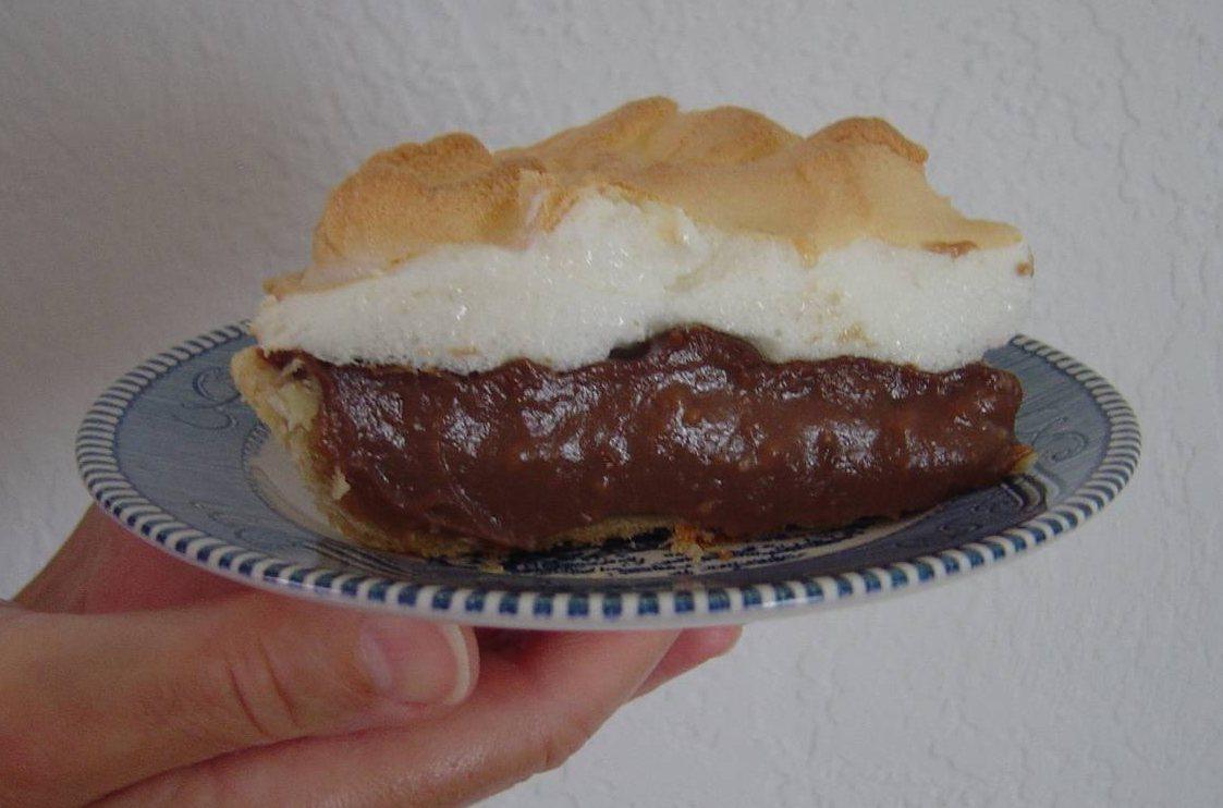 Piece of My My Chocolate-Peanut Butter Pie