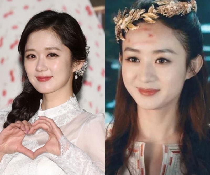 Những sao Hoa - Hàn giống nhau như anh chị em 'thất lạc' - Ảnh 1