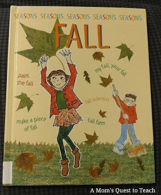 Fall Seasons children's book