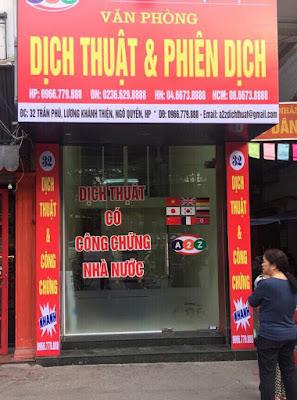 Dịch thuật quận Ngô Quyền - Hải Phòng nhanh chóng chính xác chuyên nghiệp