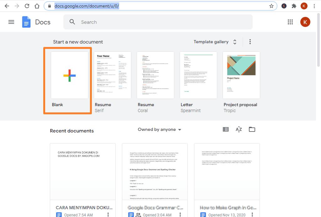cara upload file microsoft word ke google docs