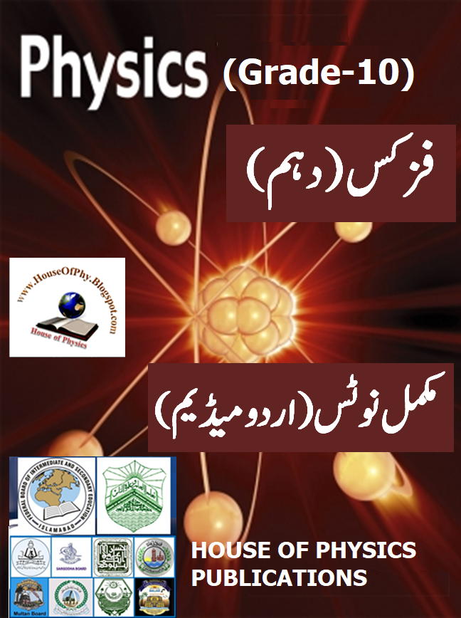 10th Class Physics Notes, Solved Question Answers & Numerical