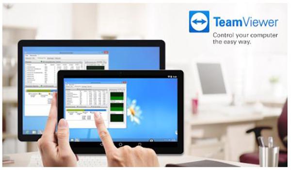 تطبيق TeamViewer للتحكم في الكمبيوتر من خلال الجوال