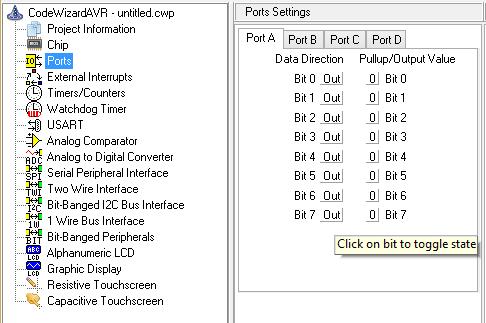Modul Praktikum Mikrokontroler Atmega8535 Menggunakan Software Codevision AVR