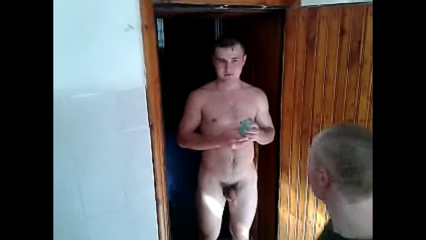 Nude male army cock