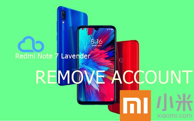 Remove Mi Cloud+ Frp Redmi Note 7 Lavender Fix !!!
