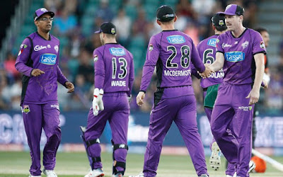 BBL 2019-20 SIX vs HUR 39th T20I Match