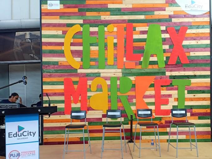 Pelancaran Chillax Market di EduCity Iskandar Malaysia