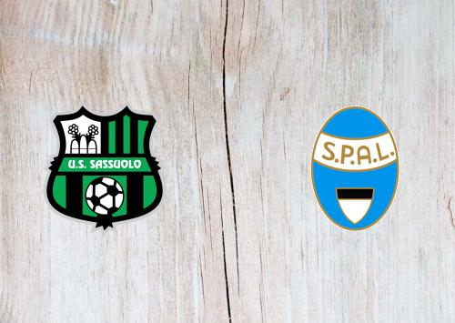 Sassuolo vs SPAL -Highlights 22 September 2019