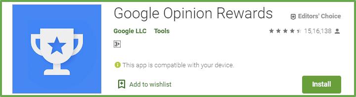 paisa kamane ka app google opinion rewards