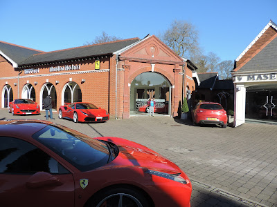 sports car showroom lyndhurst