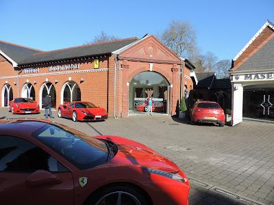 sports car showroom lyndhurst