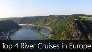 Top 4 River Cruises in Europe