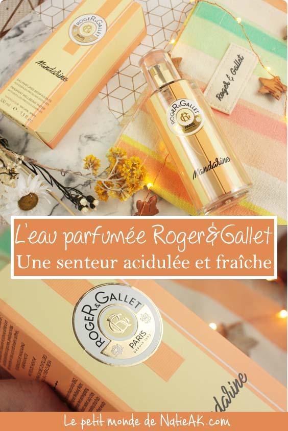 impressions eau parfumée bienfaisante Roger & Gallet