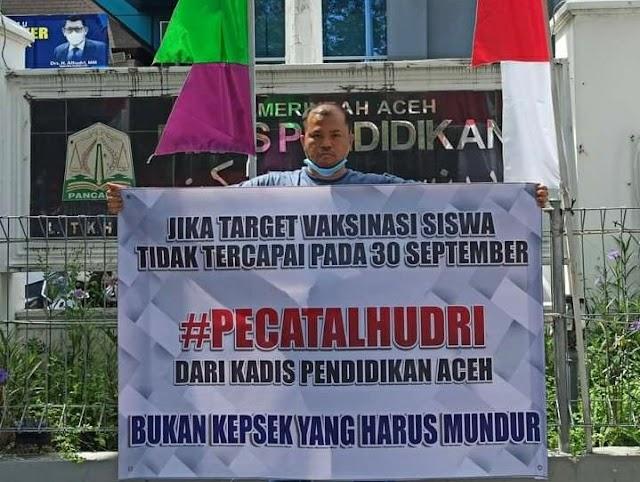 Ultimatum Kadis pendidikan Aceh Alhudri, Berbuntut Pemecatan