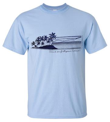 Gilligans Island t-shirt