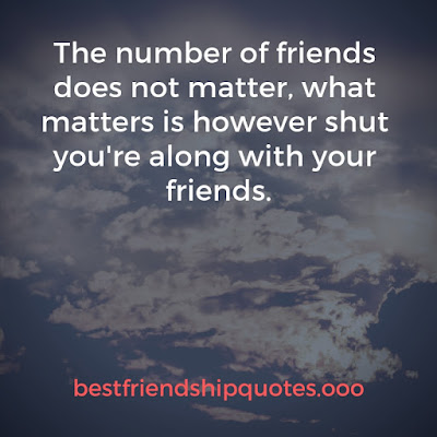 Small Quotes On Friendship