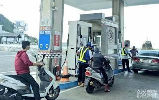 台灣中油:綠島蘭嶼加油站送油不中斷