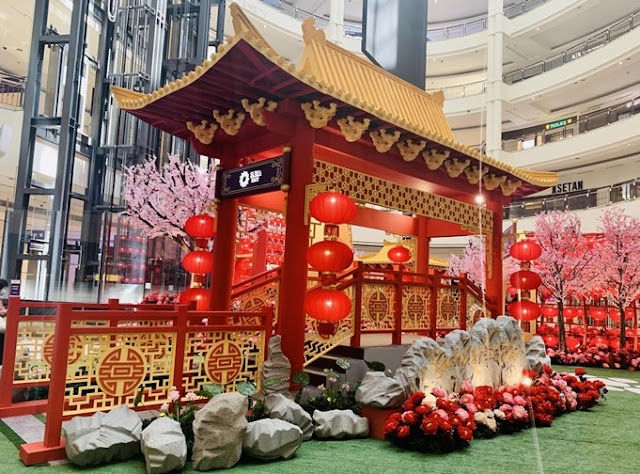 Keeping The Spirits Up This Chinese New Year, Suria KLCC, Malaysia Shopping Mall, Shopping Mall CNY Decor, CNY Decor, Lifestyle