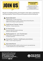 Mar Sleeva Medicity Palai, Kerala Staff Nurse Vacancy 2020