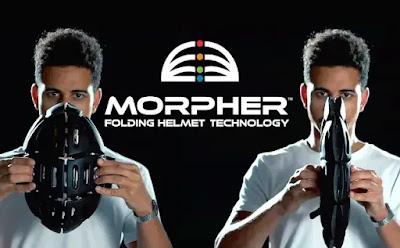 MORPHER - Casco Plegable para Ciclistas