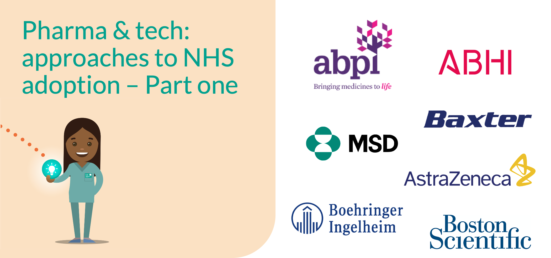 Pharma and Tech: Approaches to NHS adoption - Part one