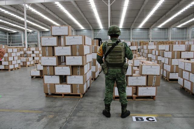 Concluye Talleres Gráficos de México impresión de las boletas de las elecciones federales