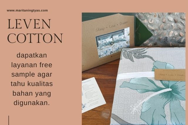 gratis sample kain dari leven cotton