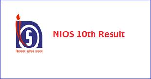 NIOS 10th Result 2017