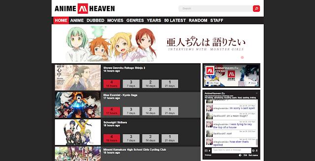 anime heaven eu website