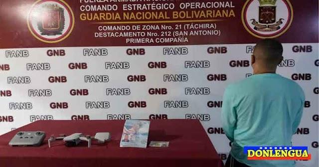 ACUSADO DE ESPIONAJE | Norteamericano detenido en el Táchira mientras volaba un Drone de Juguete