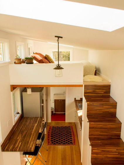 Dormitorios en altillos para espacios peque os - Como hacer un altillo de madera ...