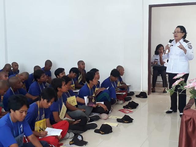 Kepala Zona Kamla Timur Jadi Pembicara di Akademi Maritim Maluku