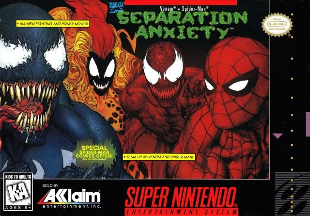 تحميل لعبة فينوم و سبايدر مان القديمة - Spider-Man & Venom: Separation Anxiety