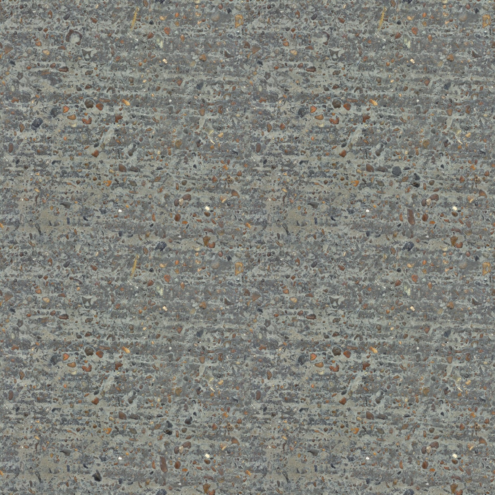 (CONCRETE 14) seamless floor granite stones texture