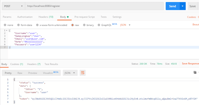 Membuat Rest Slim Framework dengan Authorization JWT