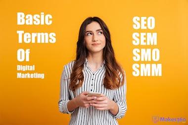 Basic understanding of SEO, SEM, SMO and SMM in digital marketing?