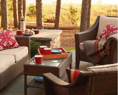 outdoor furniture ideas | Jennifer Adams