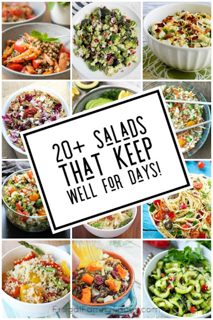 summer salads that keep well for days