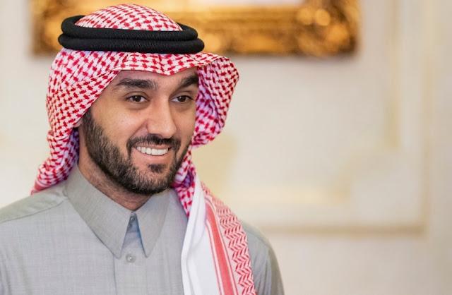 امر ملكى بتعيين  عبد العزيز بن تركى بن فيصل آل سعود وزيرآ للرياضة